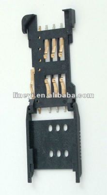 SIM Card Connector with detective pin