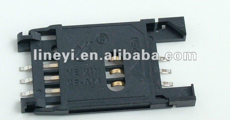 6 pin SIM Card Connector