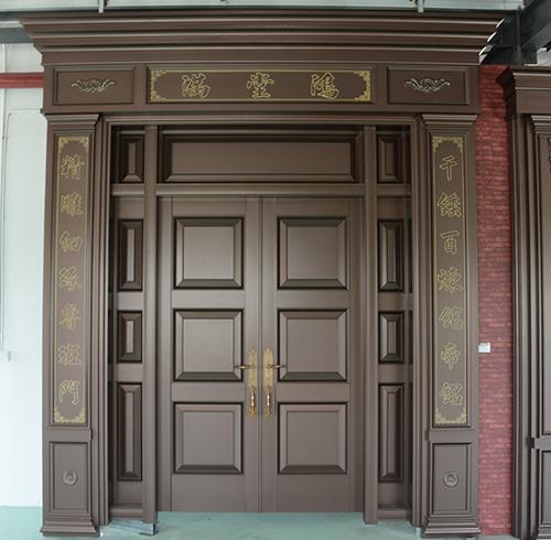 关于福建豪华艺术门的保养方法