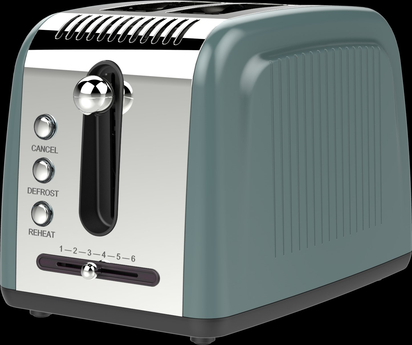 2 Slice Retro Toaster HX-5015