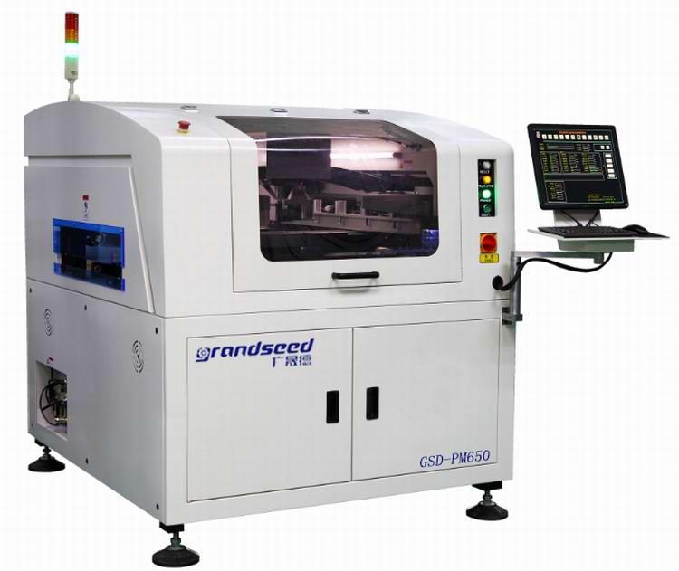 锡膏锡膏印刷机操作使用与参数设置