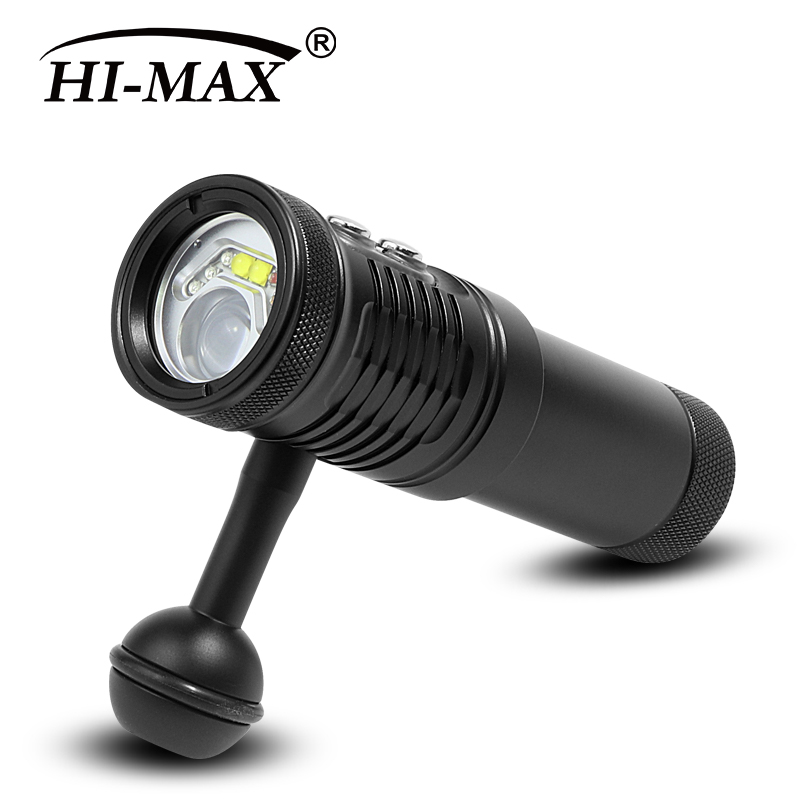 V17 2200LM Underwater Diving Video Light
