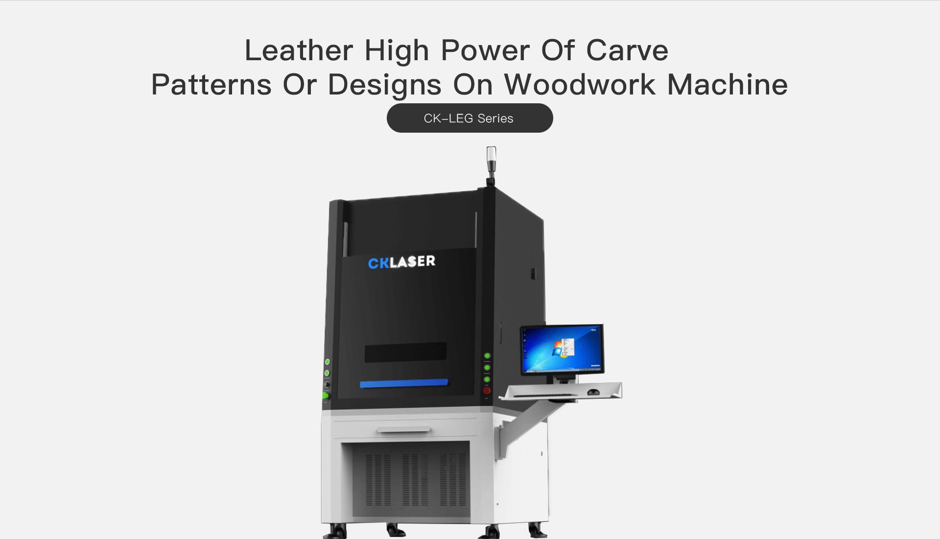 Taste Laser-leather laser engraving machine