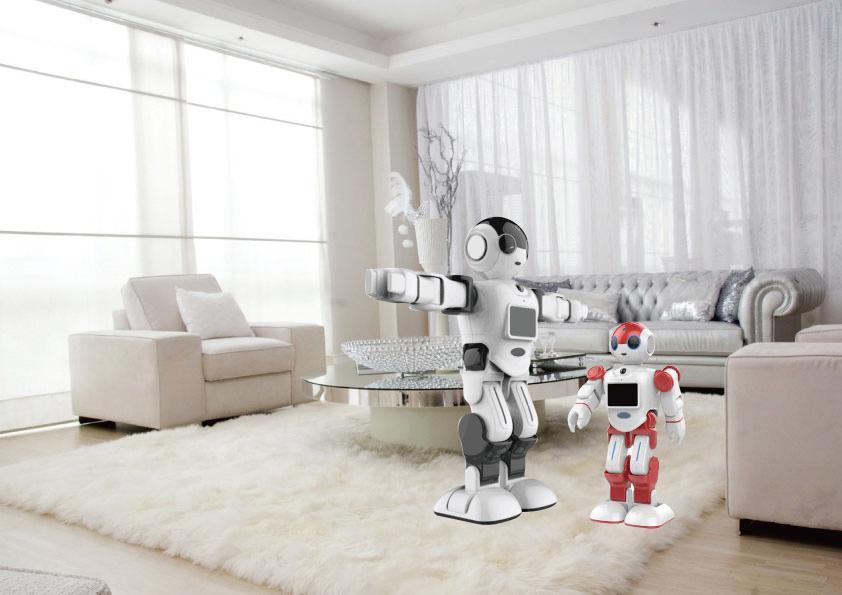 全球首套鑽石級機器人管家 x 夢想智慧住...