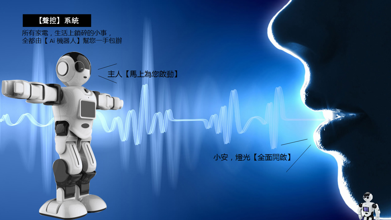 聯網智慧家庭崛起,「鑽石級」聲控機器人落...