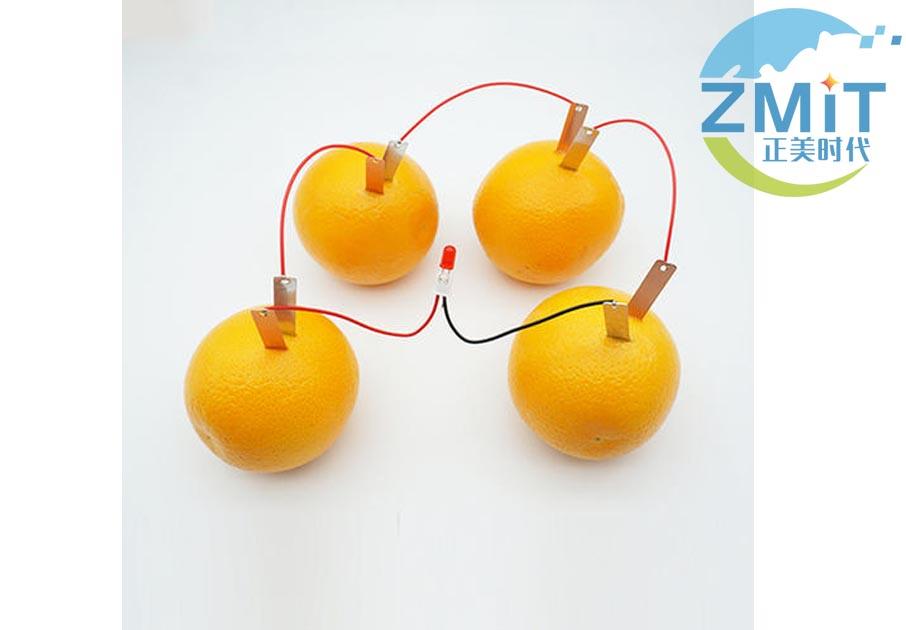 水果导电实验