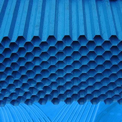 pvc(聚氯乙烯)蜂窝斜管填料