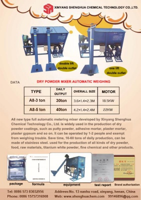 Ceramic tile adhesive mixer