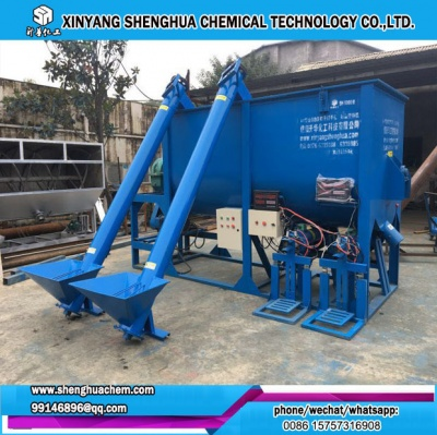 dry mortar mixing putty powder mixer machine