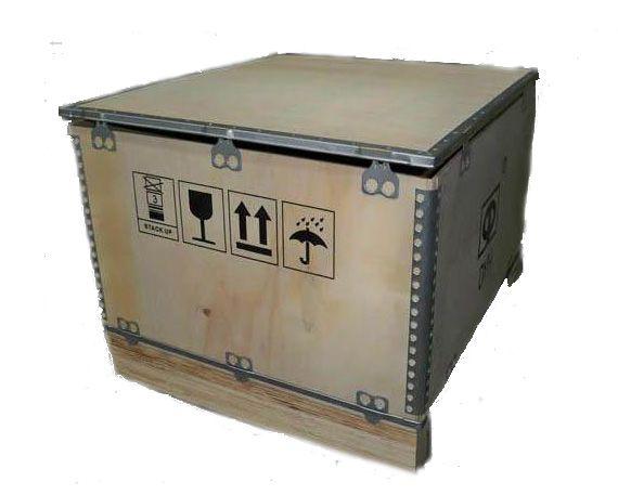 青岛钢木复合木箱