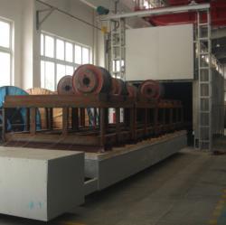 12米台车式热处理炉