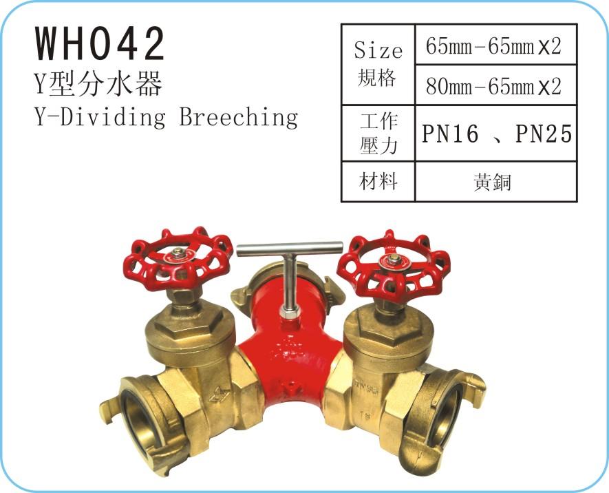 WH042 Y型分水器