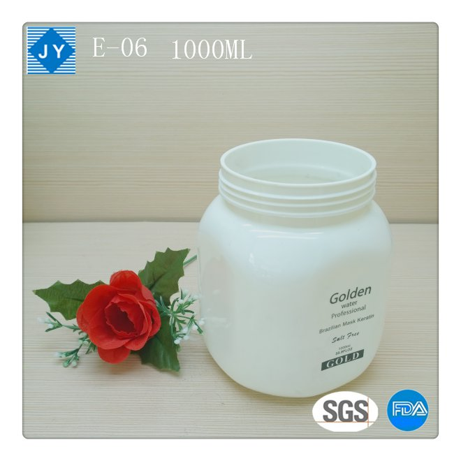 1000ml 32oz large Square Wholesale pet Plastic Jars