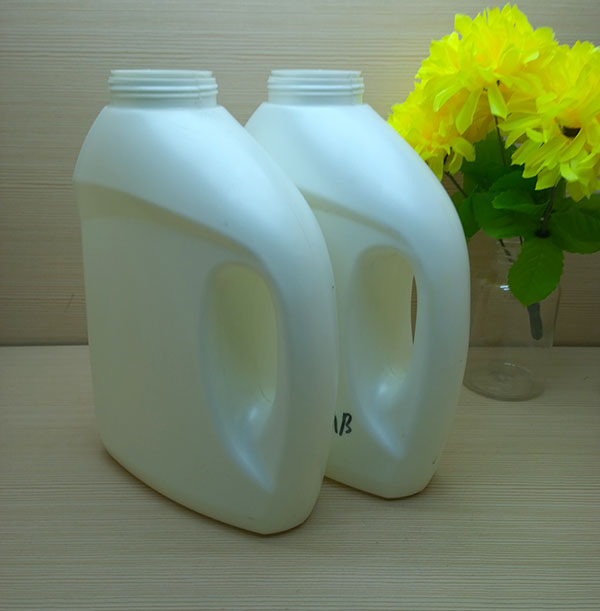 2L HDPE special design laundry liquid detergent bottle