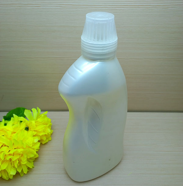 1L HDPE round laundry liquid detergent softener bottle