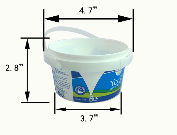 400ml great sealing bucket container
