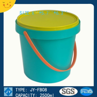 2500ml great sealing bucket container