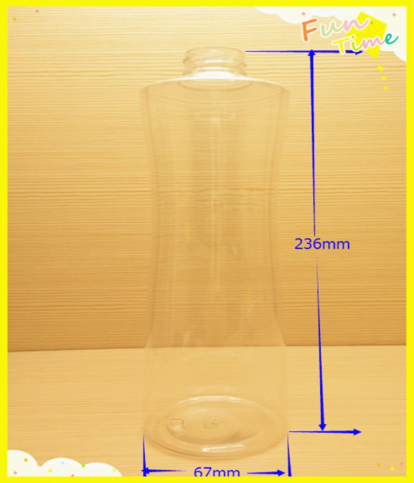 750ml 25oz Plastic Material and Eco-Friendly BPA free bottle, PET bottle