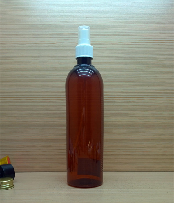 480ml 16oz custom color round pet plastic bottles