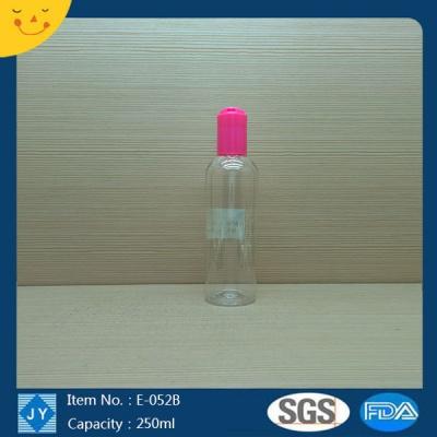 250ml 8oz pet plastic cylinder bottle