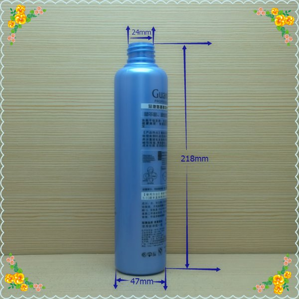 280ml 9oz clear round plastic bottles