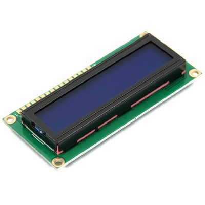 NEW DC 5V HD44780 1602 LCD Display Module 16x2 Character LCM Blue Blacklight