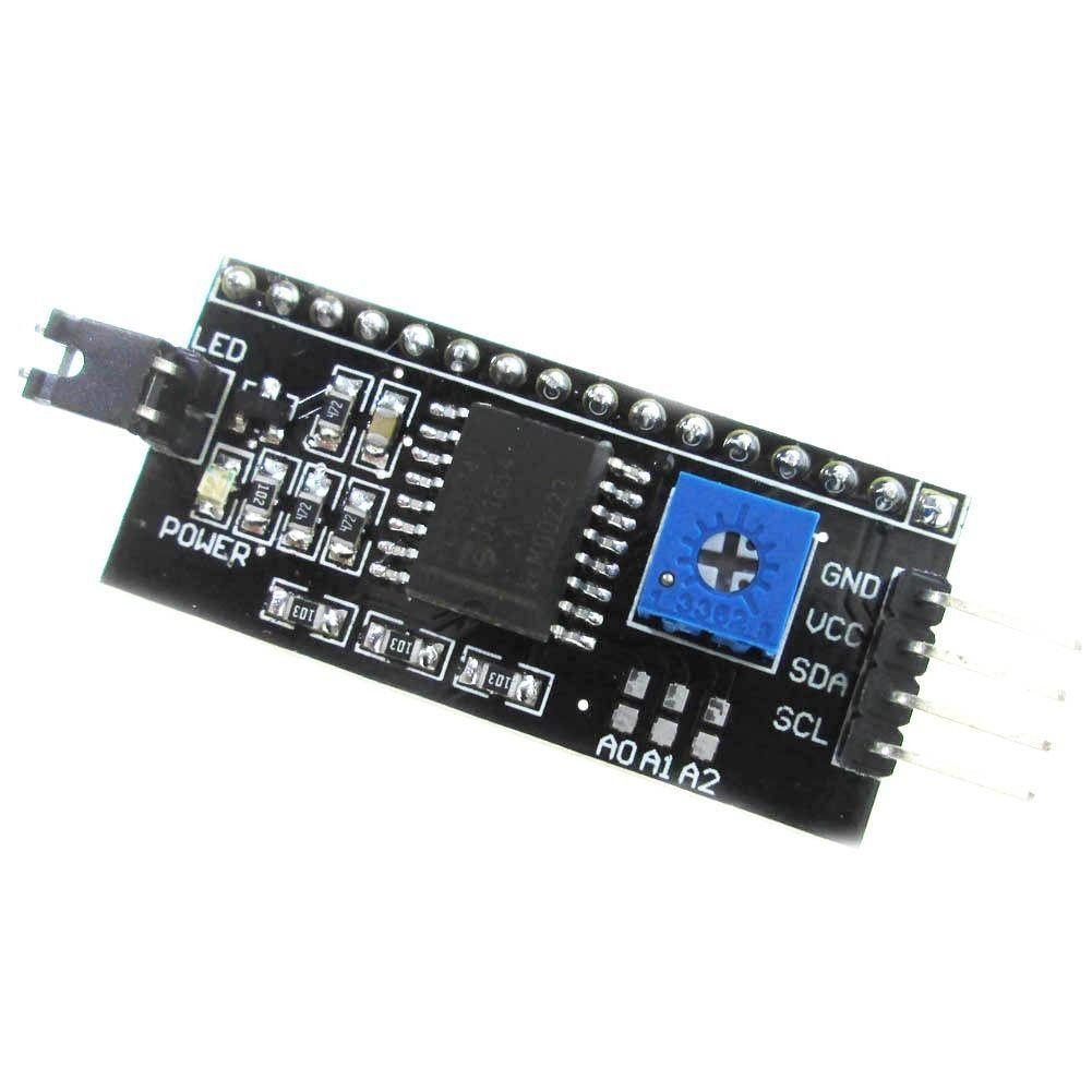 5V IIC I2C TWI SPI Series Adapter 2004 20X4 1602 LCD Display Arduino