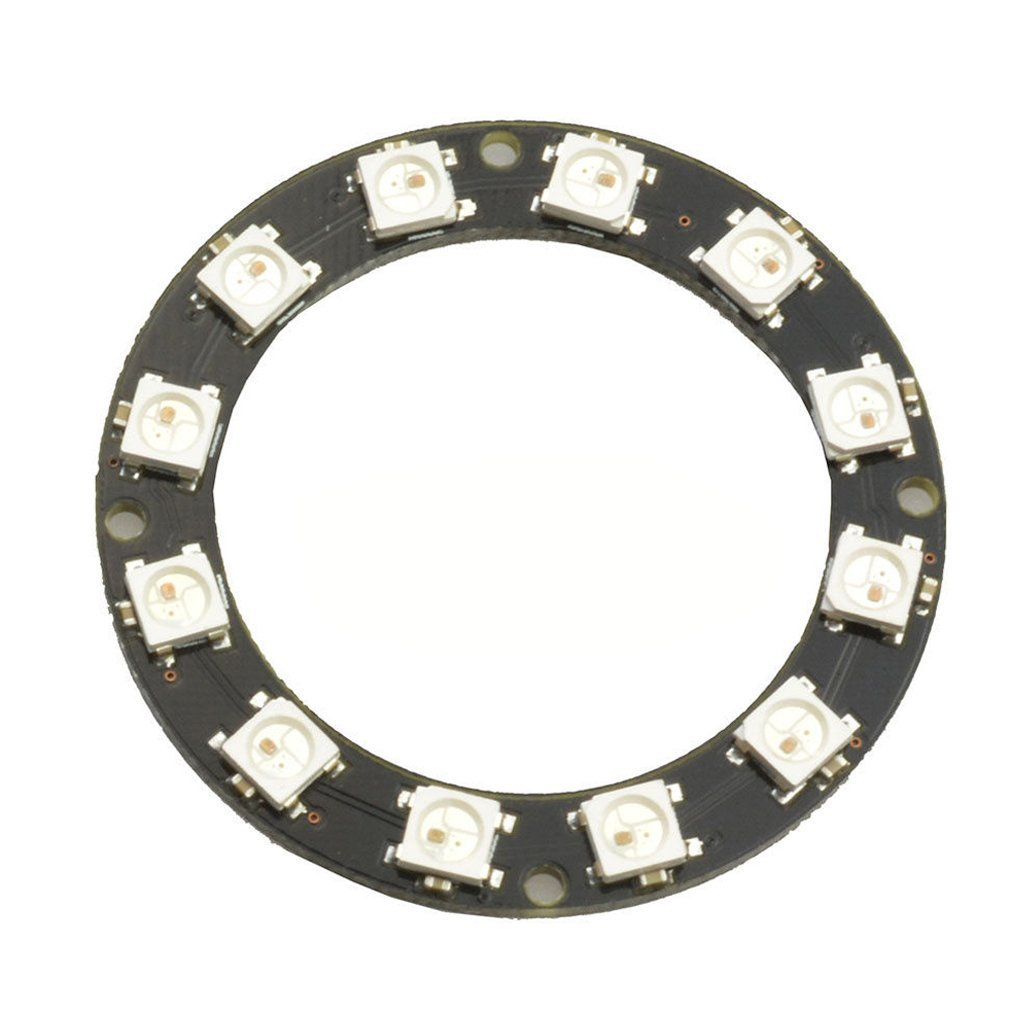 12 Bit WS2812 5050 RGB LED Ring With Integrated Driver Module For Arduino