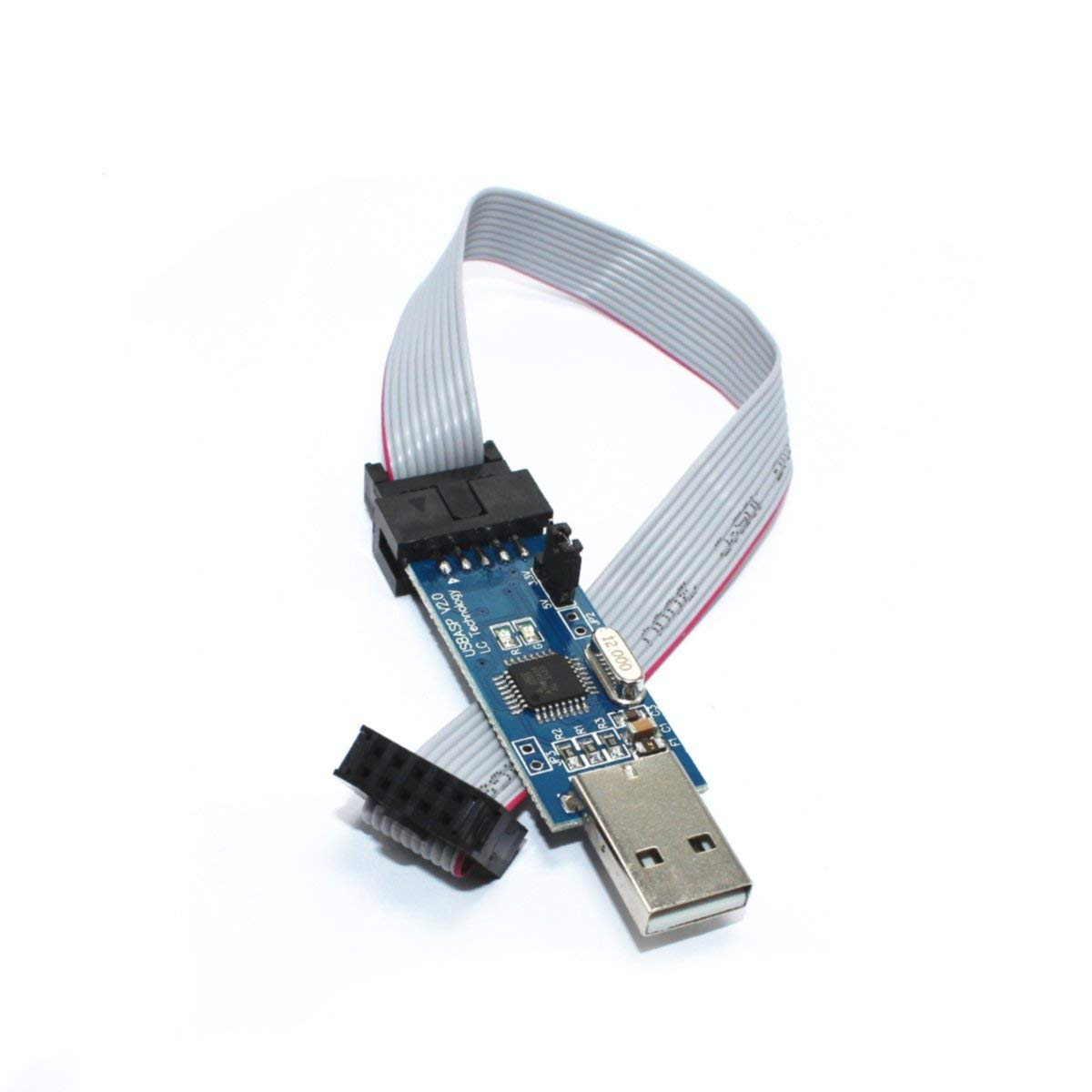 51 AVR ATMEGA8 Programmer USBasp USB ISP 10 Pin USB Programmer 3.3V/5V with Cable