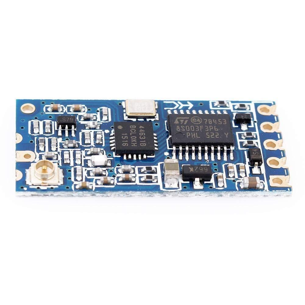 433Mhz SI4463 Wireless Module Serial Port 1000M HC-12 Replace Bluetooth Antenna