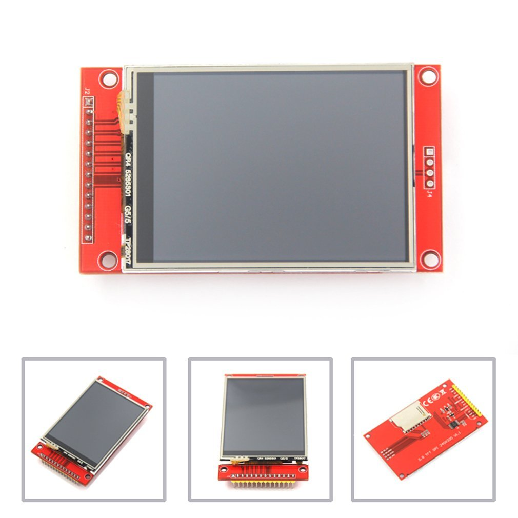 "240X320 Resolution 2.8"" SPI TFT LCD Display Touch Panel ILI9341 with PCB 5V/3.3V STM32"