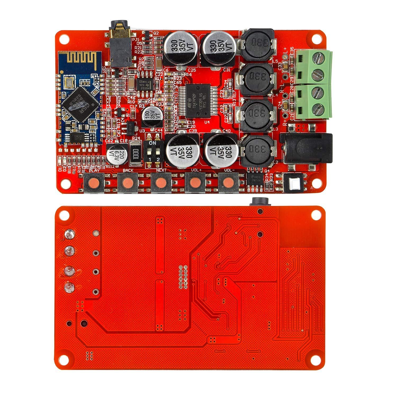 TDA7492P 50W+50W 250W Wireless Bluetooth CSR4.0 BT 4.0 Audio Receiver Digital Amplifier Board AMP
