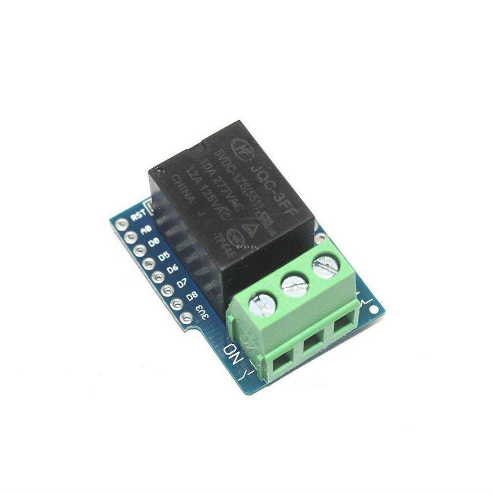 D1 mini Relay Shield 5V D1 mini Relay Module for WeMos D1