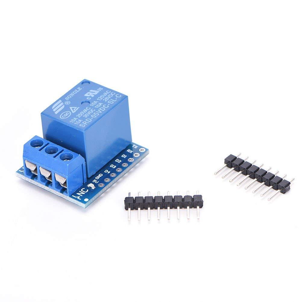 5V D1 mini Relay Shield 5V D1 mini Relay Module for WeMos D1