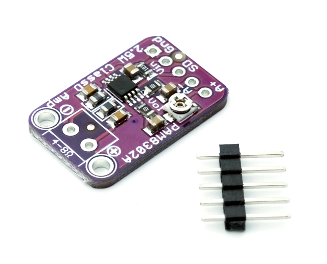 PAM8302 2.5W Class D Single Channel Solo Audio Amplifier Board Amp Module