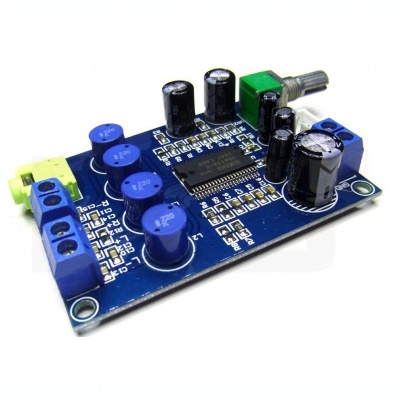 YDA138 220W Dual Channel Digital Amplifier Board Power AMP Module DC9-14V
