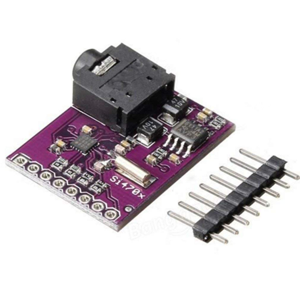 Si4703 RDS FM Radio Tuner Evaluation Breakout Board For Arduino AVR PIC ARM