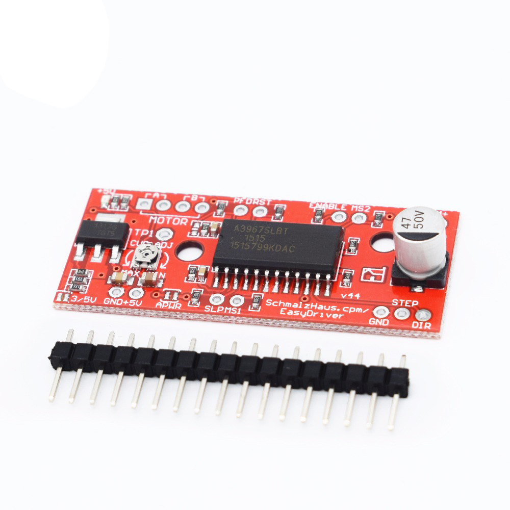 A3967 Stepper Motor Driver Board EasyDriver Stepper Motor Driver V44 for Arduino EK1204