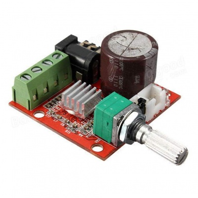 12V 2X10W Hi-Fi PAM8610 Audio Stereo Amplifier Board Module Dual D Class Channel