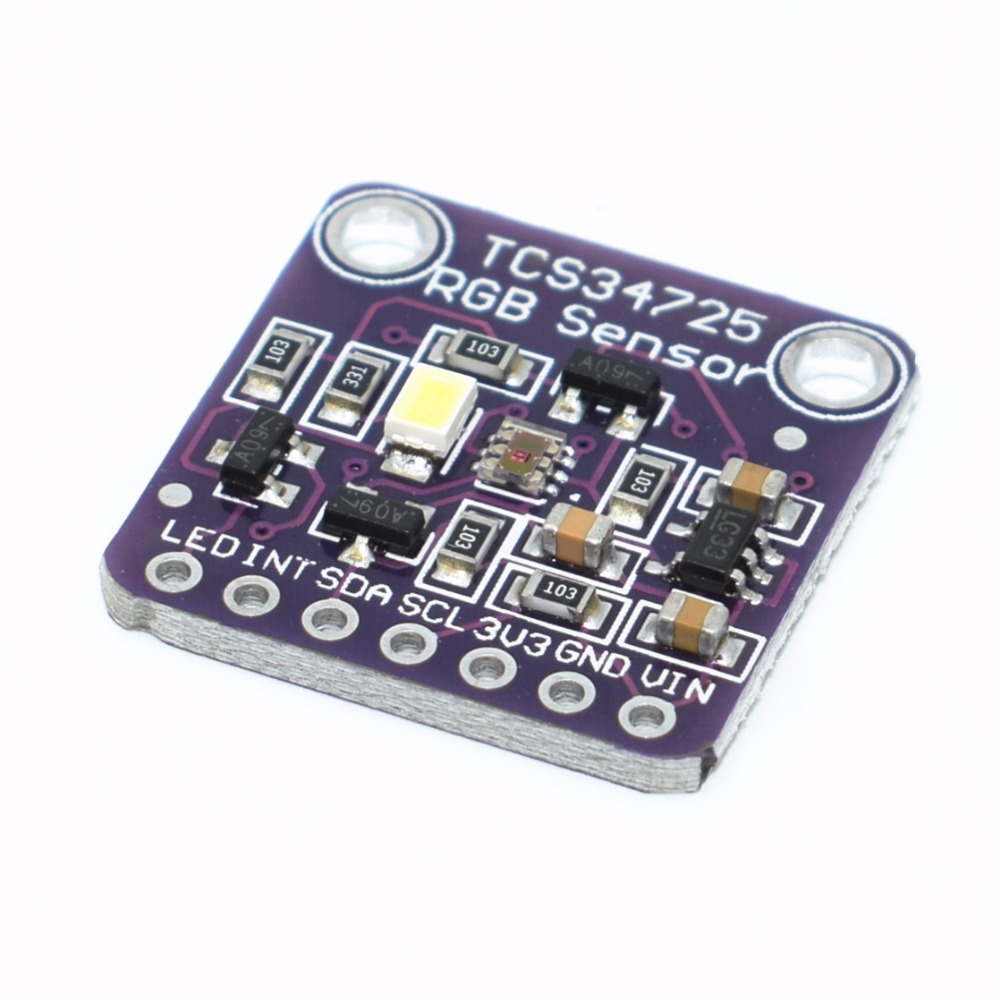 TCS-34725 TCS34725 RGB Color Light Sensor Colour Recognition Module For Arduino