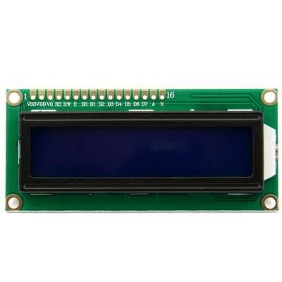 DC 3.3V HD44780 1602 LCD Display Module 16x2 Character LCM Blue Blacklight