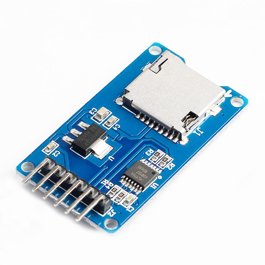 HiLetgo 5pcs Micro SD Carte TF Adater Reader Module