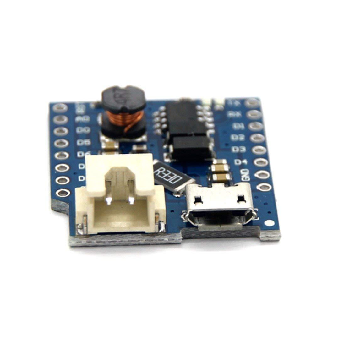 HiLetgo 3pcs WeMos D1 mini Single Lithium Battery Charging Board D1 Lithium Boost Shield