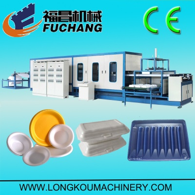 PS foam vaccum forming machine