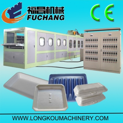 PS foam vaccum forming machine