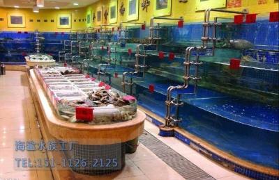 岳阳市场海鲜池