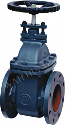 WH010 Cast Iron Flanged End Gate Valve
