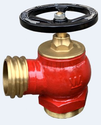 WH001 80mm Single Male Round Thread Outlet Hydrant