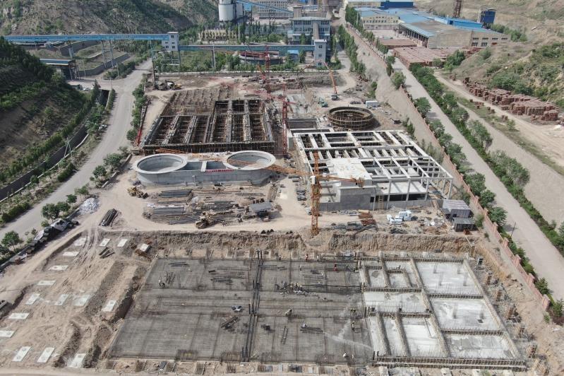 山西灵石聚义富康煤焦化综合污水处理项目(在建)