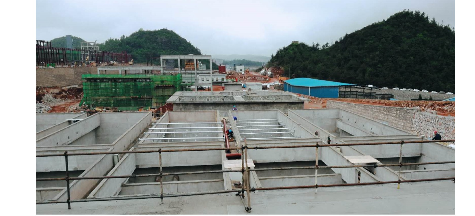 云南陆良景兴煤化工综合污水处理项目(在建)